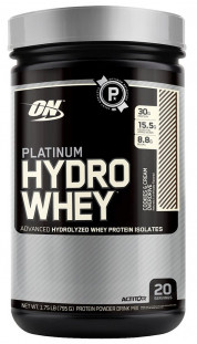 Протеин Optimum Nutrition Platinum  HydroWhey 1.75 lb (795 г)